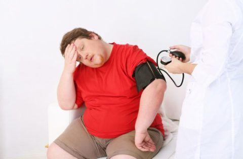 Ожирение существенно осложняет прогноз заболевания