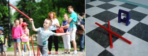 Играйте вместе с детьми в подвижные игры