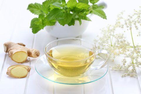 Чай с мятой и мелисой
