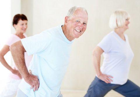 Помочь справиться с высоким давлением сможет комплекс упражнений ЛФК