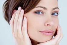 Маска из крахмала для увядающей кожи лица