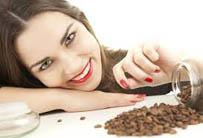 Маска - пилинг для лица из кофе