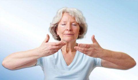 Вдыхать воздух нужно носом, выдыхать - ртом