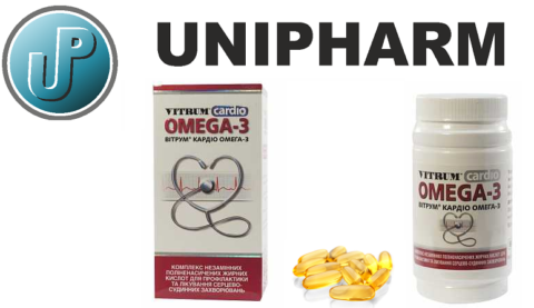 Оригинальная упаковка, цвет и форма капсул от производителя Unipharm (США)