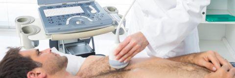 Перед стрессовой ЭХО КГ проводится «классическое» ультразвуковое исследование сердца