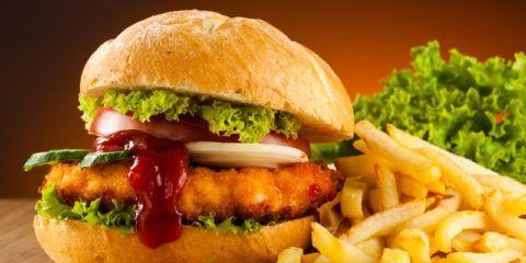 Фаст фуд вызывает ожирение.