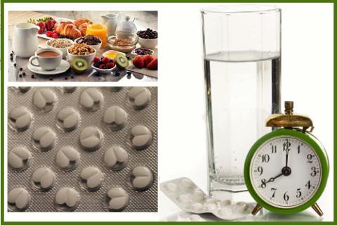 Оптимальное время приёма адреноблокаторов – во время первого завтрака