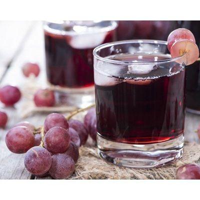 Сок красных сортов винограда