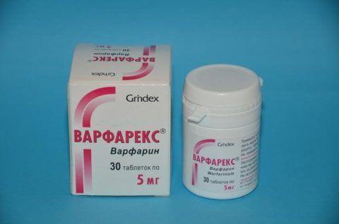 Аналог Варфарина в таблетках