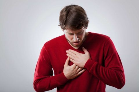 Боли в груди и одышка — самые частые симптомы миокардита