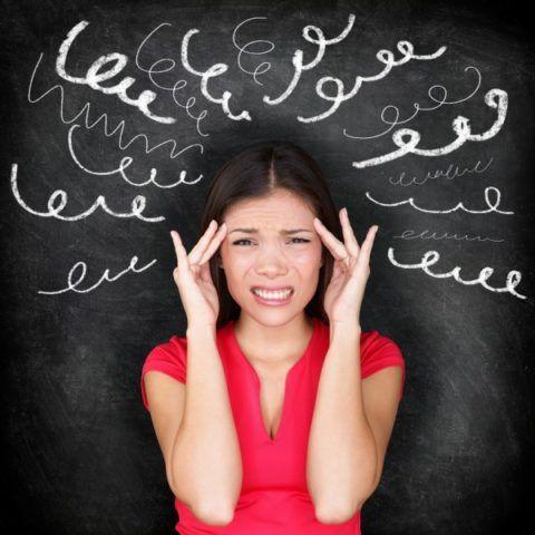 Стрессовые ситуации приводят к головным болям