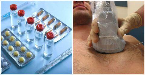 Таблетки и флаконы