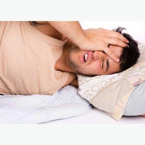 С утра болит голова