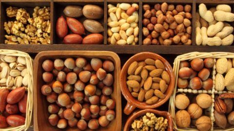 Орехи – источник минералов, витаминов, аминокислот.