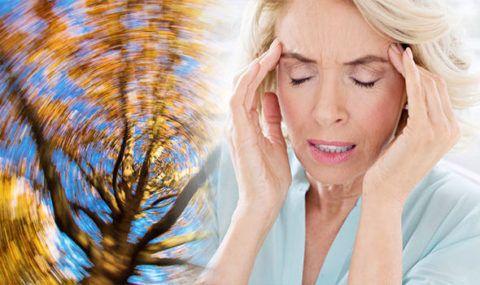 Стойкое головокружение ишемического генеза