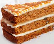 Морковный торт с сухофруктами