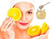 Маска - пилинг для лица из апельсина