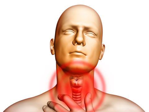 Боль в области гортани – признак атипичного инфаркта.