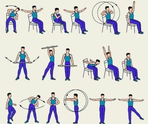 Важно выполнять простые, но в тоже время полезные упражнения