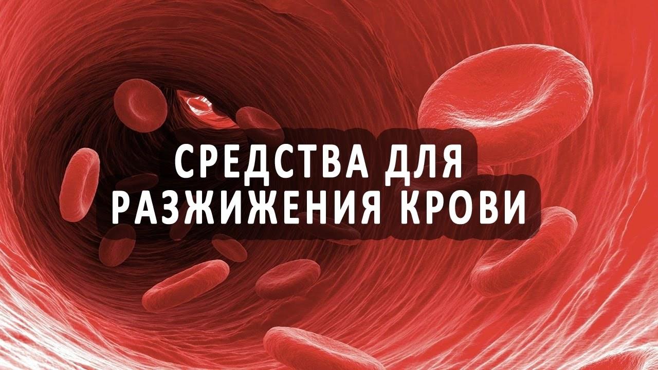 Чем разжижать кровь в домашних условиях