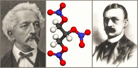 Придумал Nitroglycerinum (1847) А. Собреро, а принимать его от сердца предложил (1876) У. Меррелл