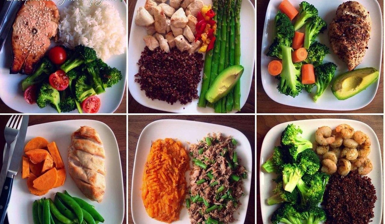 Рацион диетическое питания для похудения