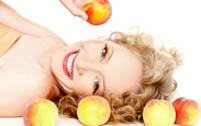 Маски для лица из персика
