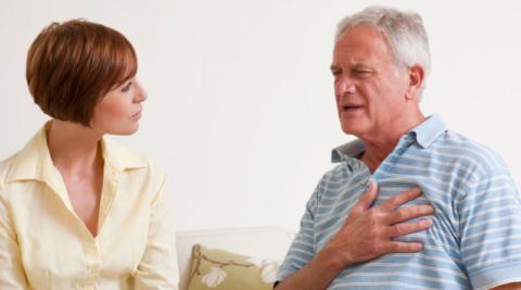Болевой синдром в груди требует уточнения его происхождения