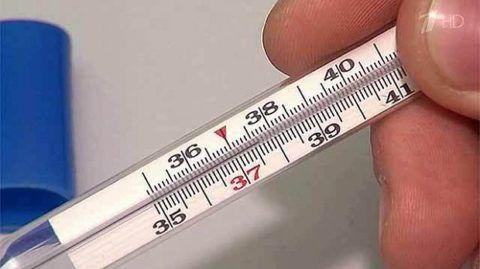 Скачки температуры тела.