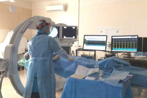 Фото, сделанное во время проведения ЭФИ сердца